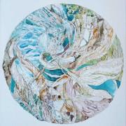 Florence Plissart, dessin fantastique, mandala, mandala poésie, dessin poésie, noeuds