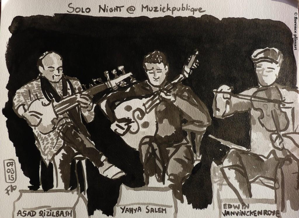Croquis musiciens