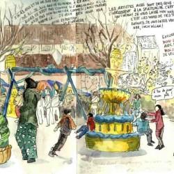 Carnets de regards, cureghem, anderlecht, Florence Plissart, Parc de la Rosée