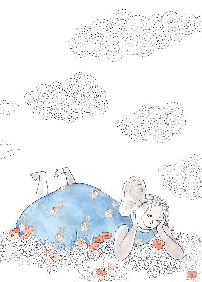 Nine entend ce que tu n'entends pas. Tu le croiras peut-être, ou peut-être pas ! Le glissement des nuages dans le ciel et les battements de cœur des statues. Les fous-rires des arbres et la respiration des papillons.