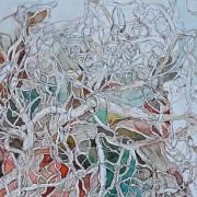 Florence Plissart, arbres, noeuds, dessin neouds, dessin arbre fantastique, abstrait