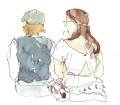 Croquis mariage